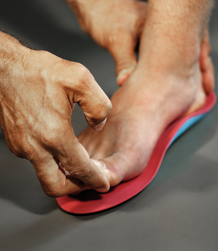 Custom Designed Orthotics